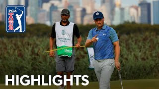 Jordan Spieth shoots 9-under 62 | Round 2 | THE NORTHERN TRUST