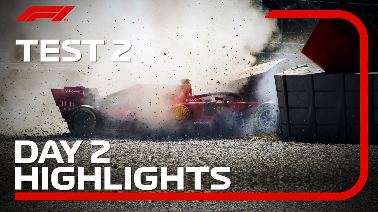 Download Test 2, Day 2 Highlights   F1 Testing 2019