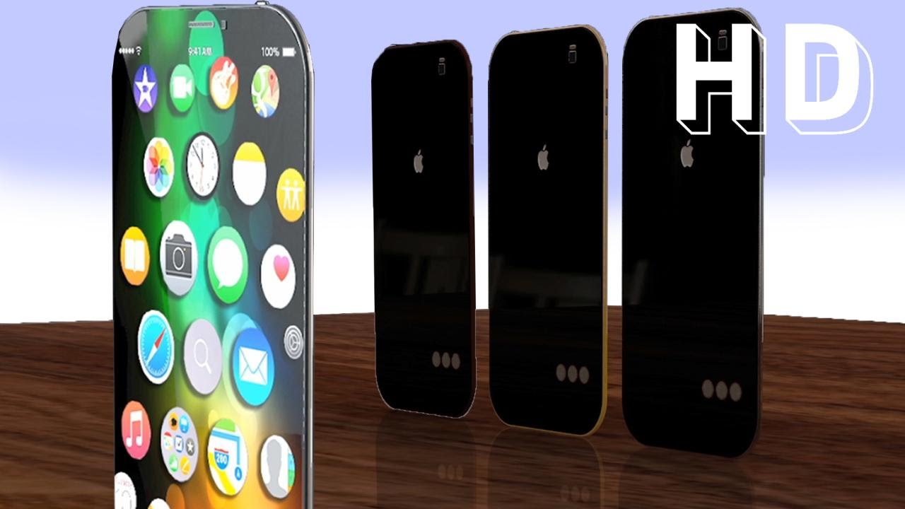 iPhone 7 Slim - Virtual Home Button Concept by Mesut G. Designs - YouTube