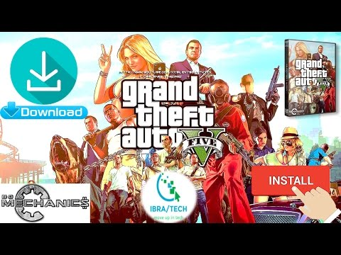 How to Download Gta V from Rg Mechanics