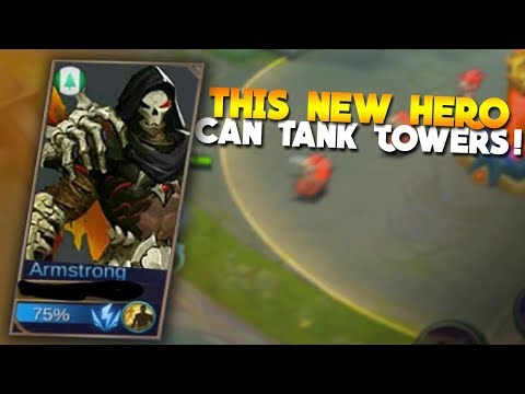 NEW HERO Armstrong Gameplay! Mobile Legends