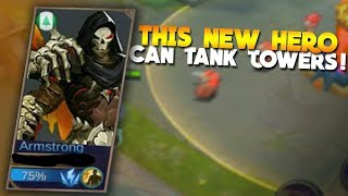 NEW HERO Aulrad - Armstrong Gameplay! Mobile Legends