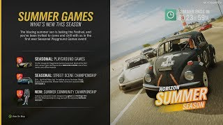 Forza Horizon 4 - Summer Season Change (February 14) [4K]
