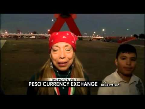 Juarez tourists taking advantage of peso currency exchange r