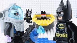 lego batman stop motion brick building lego batman vs mr freeze lego batman by