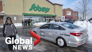 Relief for snow-ravaged Newfoundlanders