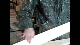 видео Деревянный каркас гаражных ворот