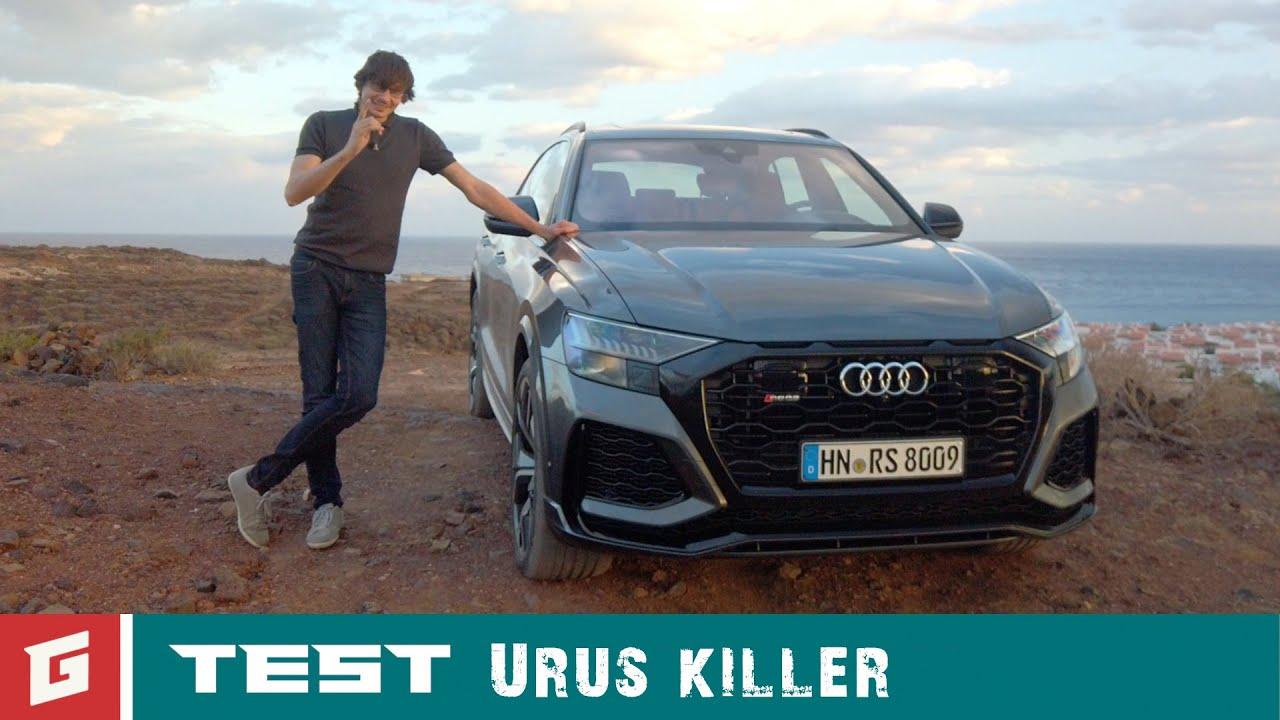 AUDI RS Q8 V8 - prvá jazda - GARÁŽ.TV - YouTube