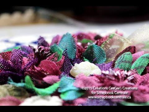 toile un bouquet de fleurs canvas youtube