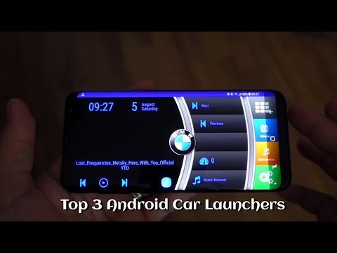 Top 3 Android Car Launchers