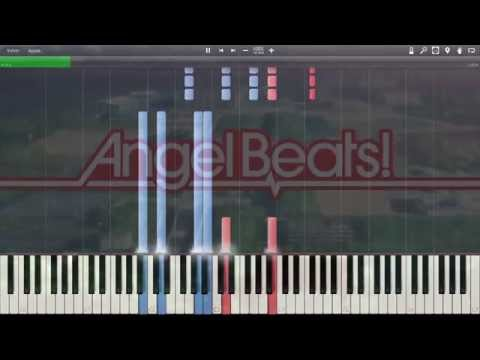 Angel Beats  OpeningMy soul ,Your Beats!  Synthesia Piano HD