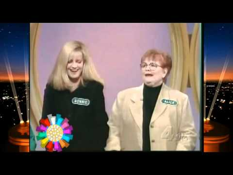Wheel of Fortune  Bonnie Hunt Drives Pat Sajak to Curse May 8, 1997
