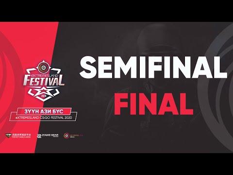 eXTREMESLAND CS:GO Festival | Semifinal - Final | BO3 | MN