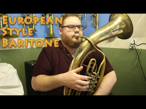The European Style Baritone - Win a T-Shirt!