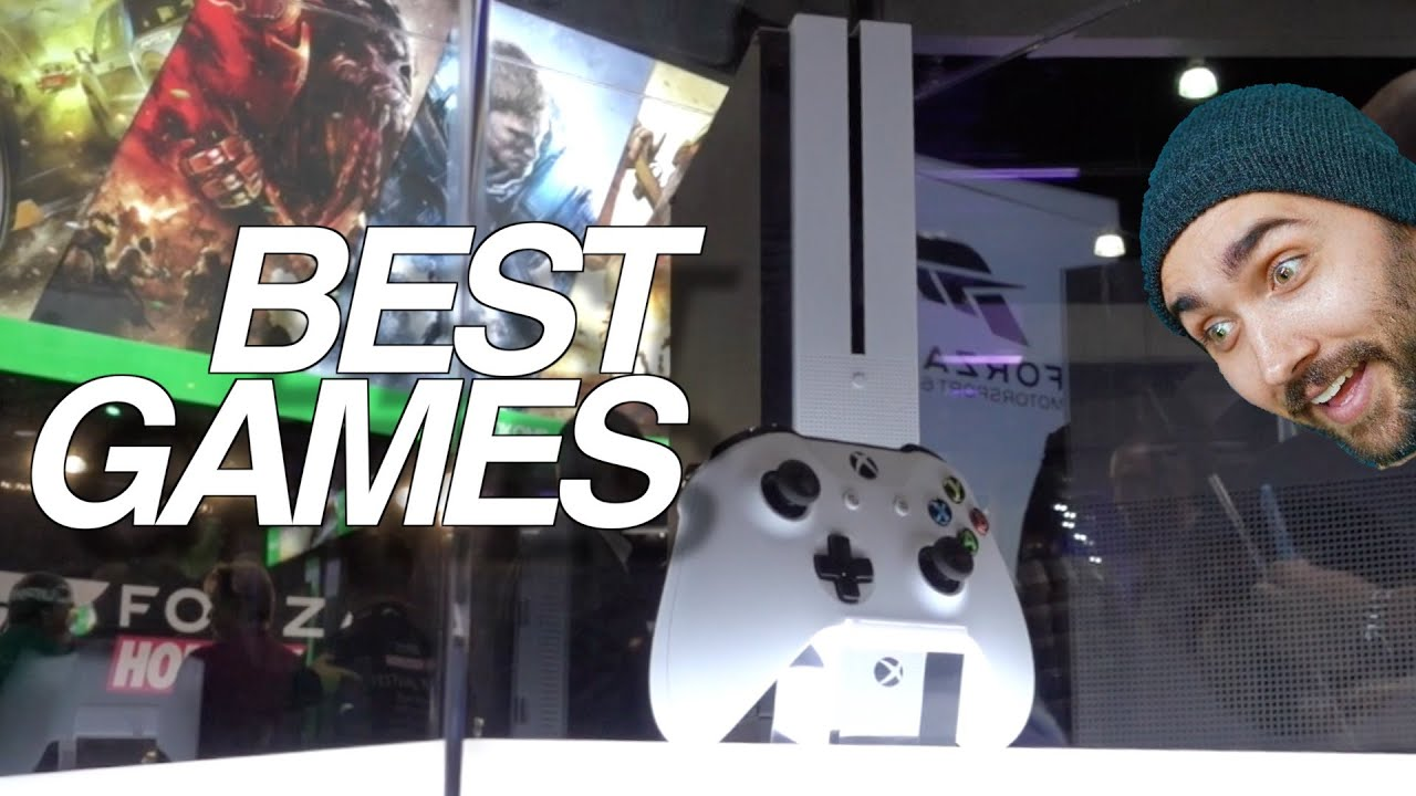Xbox One S Best Games Youtube