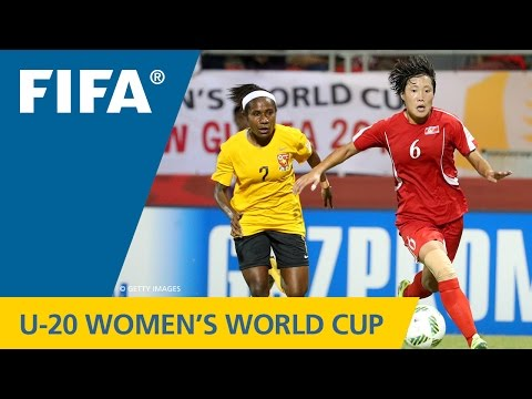 MATCH 17: KOREA DPR v PAPUA NEW GUINEA - FIFA Women's U20 Papua New Guinea 2016