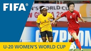 MATCH 17: KOREA DPR v PAPUA NEW GUINEA - FIFA Women s U20 Papua New Guinea 2016