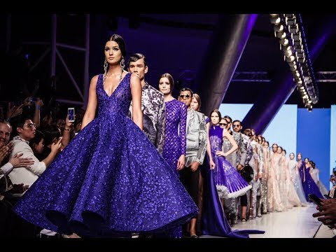 Michael Cinco | Full Show | Ready Couture | Arab Fashion Wee