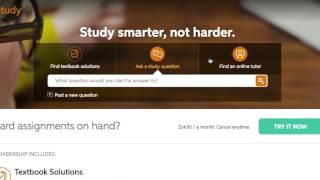 Chegg Study Experience