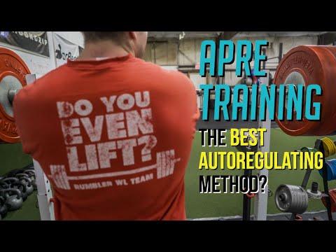 What is APRE Training | Autoregulating Strength Training