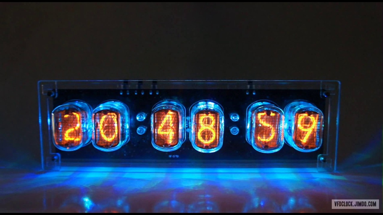 In 12 6 Tube Nixie Clock V10 Circuit