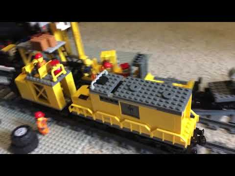 Lego Mine Train Found Something!