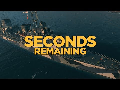 World of Warships - Seconds Remaining