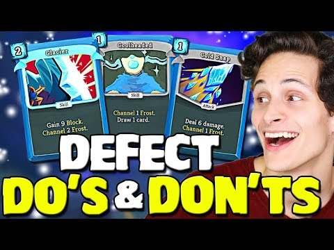 Slay The Spire - Defect Deckbuilding Mistakes! Don't Forget About Frost
