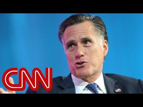 How Mitt Romney plans to take on Trump