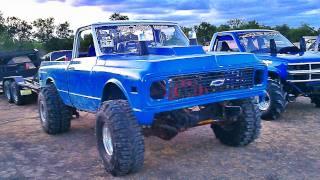 AINT DADDYS MONEY Old School 4X4 CHEVY PICKUP Mud Drag Truck.