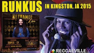 Runkus - Rain Start Fall | LIVE in Kingston, Jamaica @Skyline Levels [January 24th 2015]