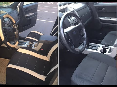 How to UPGRADE your used CAR INTERIOR Decoration