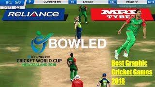 New Cricket Games 2018 | ICC Pro Cricket 2015 Gameplay - BAN vs IRL | Creative Tutorials