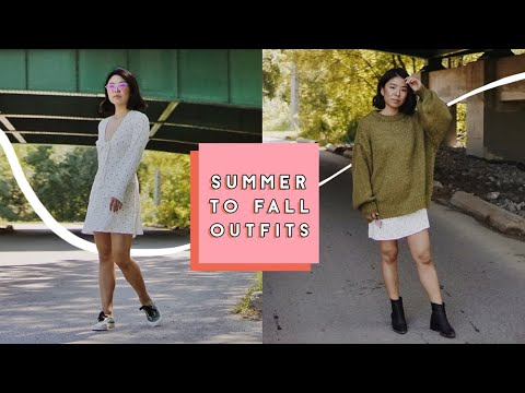 Summer to Fall Transition Outfits 6