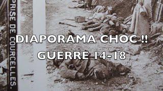 Choc !! Diaporama photos de verre de la guerre 14-18.