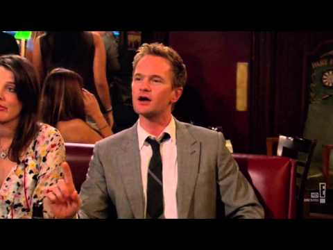 Talk my way out of a ticket - Barney Stinson