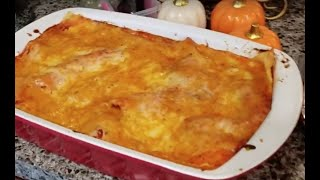 Como hacer Lasagna de Pollo