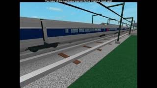 ROBLOX TGV Train Departing at Toad Town