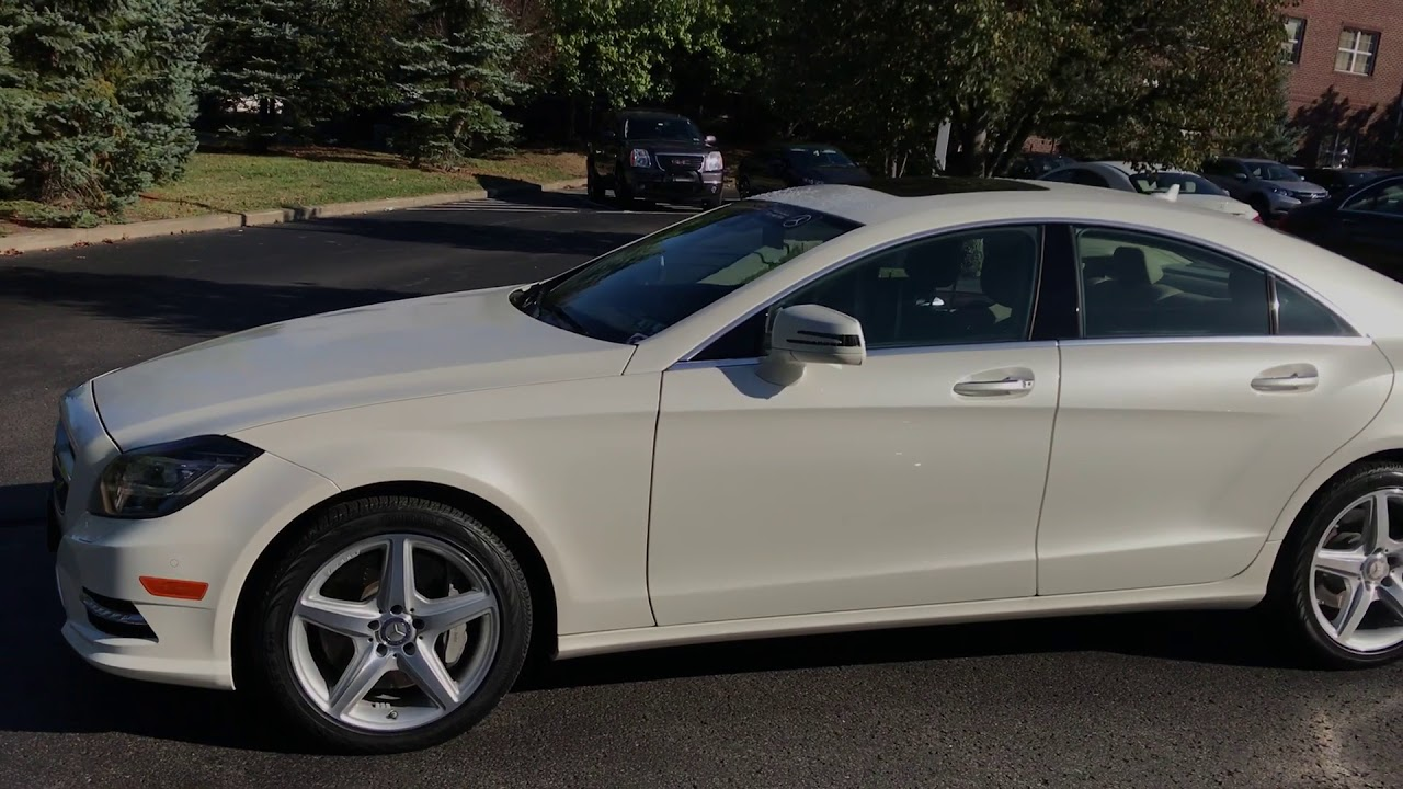 2014 Mercedes Benz CLS550 @ Bobby Rahal Motorcar Wexford,PA