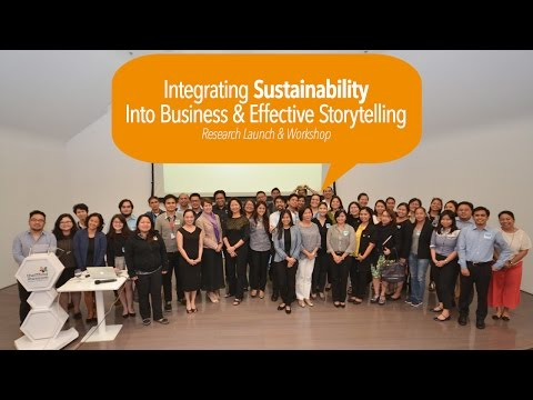 #drinkIDEAS   Integrating Sustainability into Business and Effective Storytelling