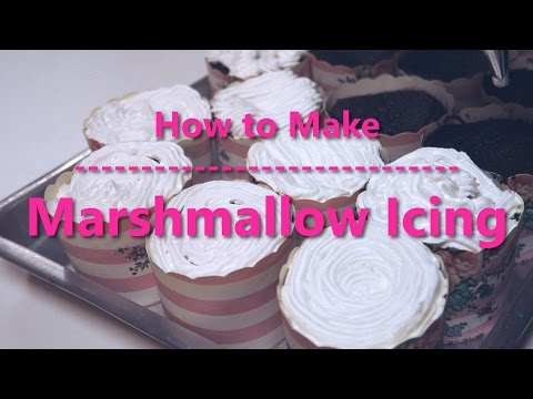 How to Make Easy Marshmallow Icing