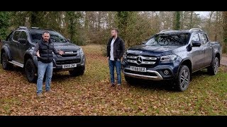 Motors.co.uk | Rivals | Review | Mercedes X Class vs Isuzu D-Max | 2019