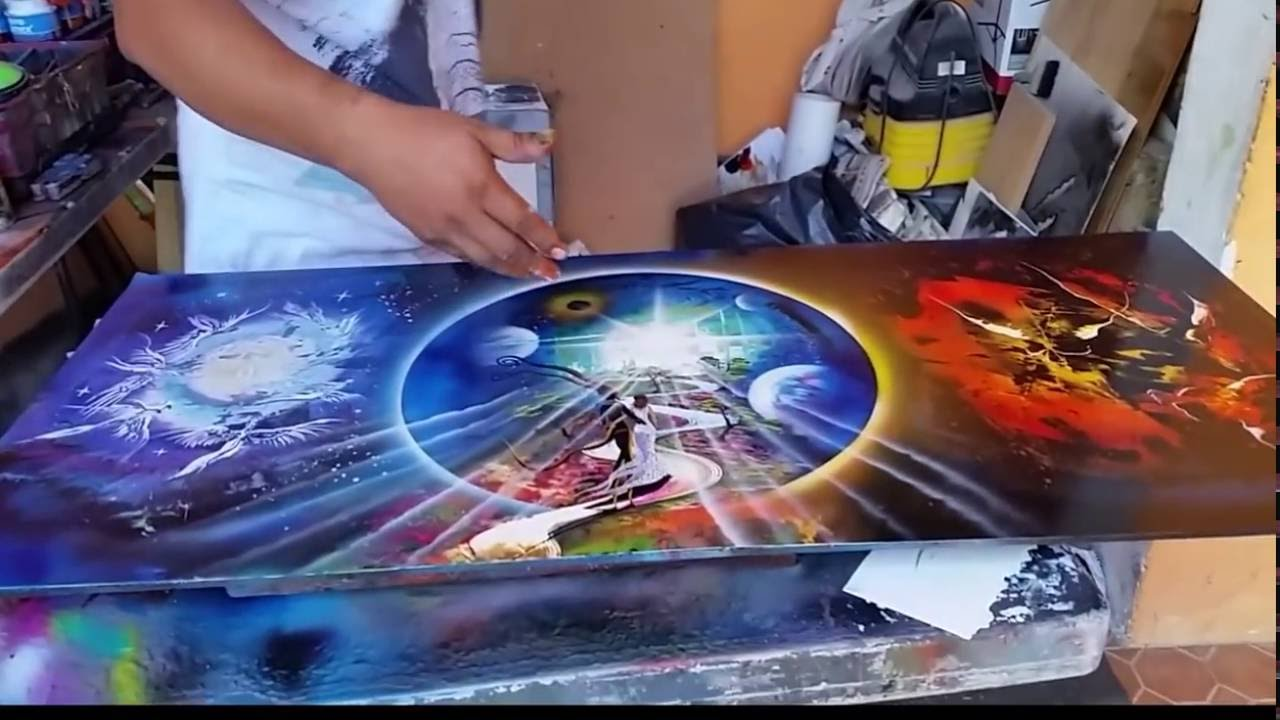Spray Can Paintings For Sale
