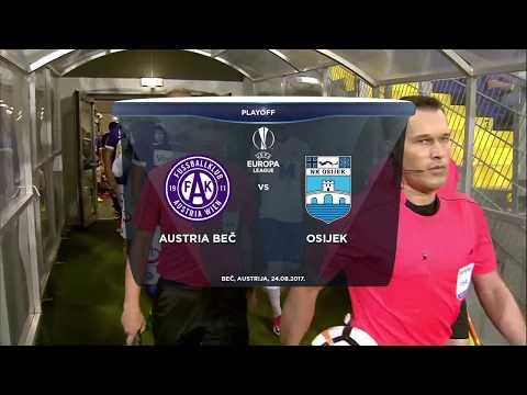 HNTV sažetak: FK AUSTRIA BEČ vs NK OSIJEK 0:1 (uzvratna utakmica četvrtog pretkola Europske lige)