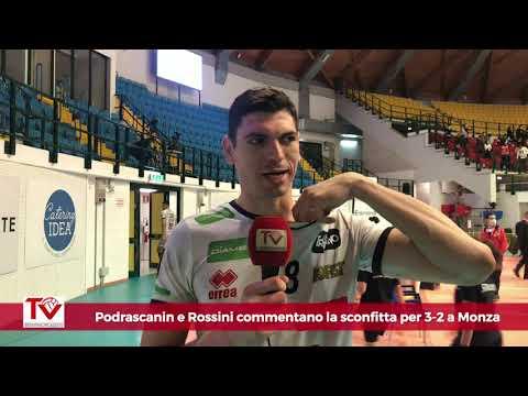 Podrascanin e Rossini dopo il tie break a Monza