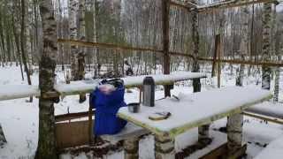 Ориетирование в лесу по компасу(Поход в лес, ориентирование по компасу и изучение местности. В видео показано как пользоваться компасом..., 2015-04-05T20:47:13.000Z)