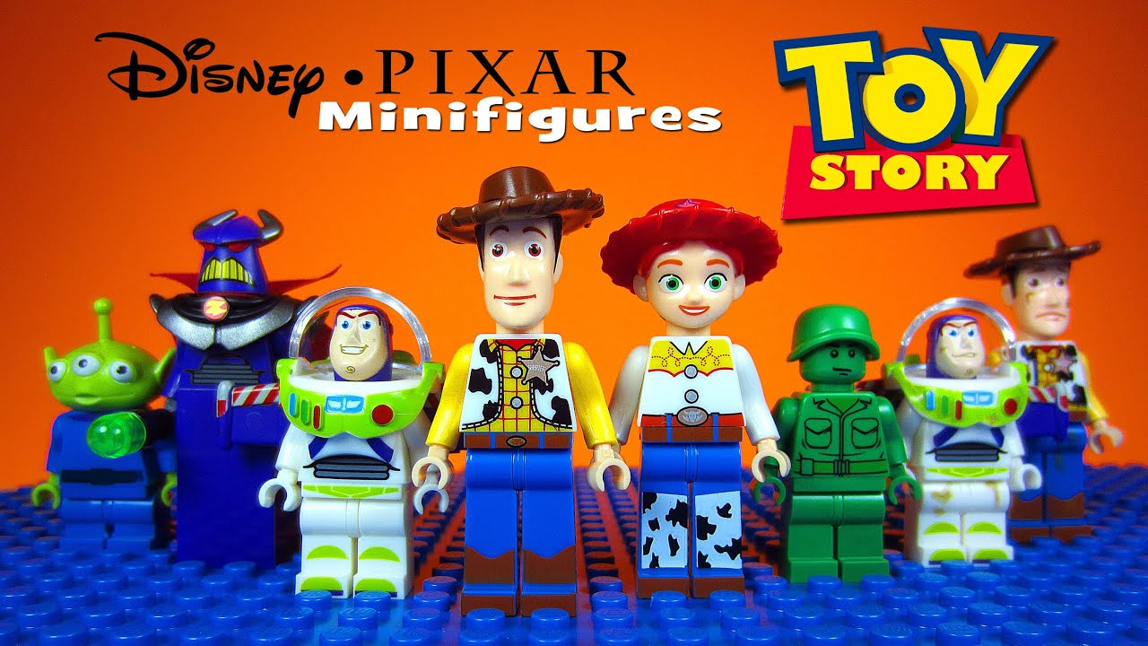 LEGO Toy Story Disney-Pixar KnockOff Minifigures includes Woody   Buzz  Lightyear - YouTube 2e081c7e3e8