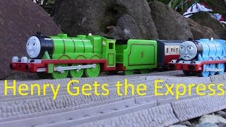 Repeat youtube video Trackmaster Henry Gets The Express