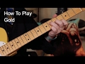 watch he video of 'Gold' Chords - Prince Guitar Lesson