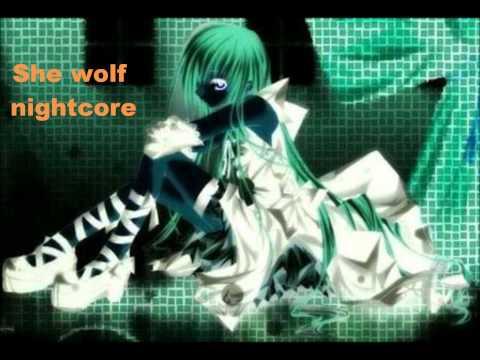 She wolf - nightcore mp3